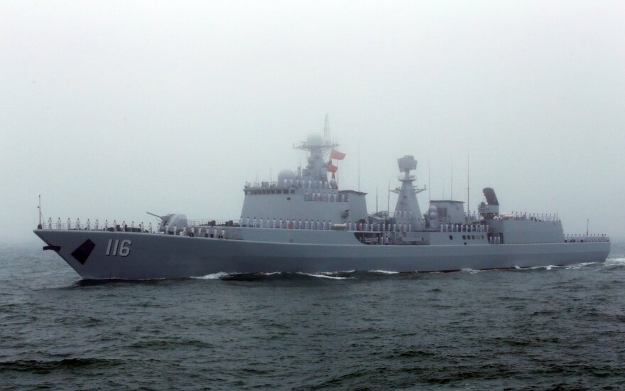 "Kinų eskadrinis mininkas ""Shijiazhuang"""