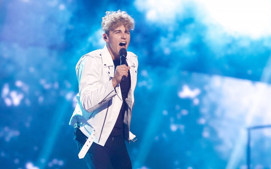 Lithuania's Donny Montell makes it into Eurovision finals