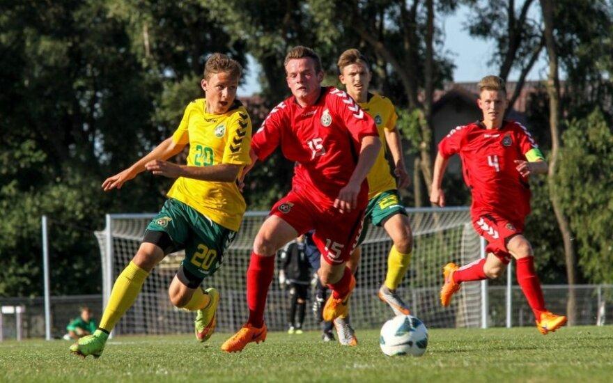 Lietuvos futbolo U17 ir U16 rinktinių tarpusavio rungtynės