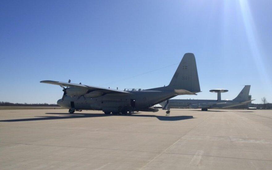 """Oro pajėgų transporto lėktuvas C-130 """"Hercules"""""""