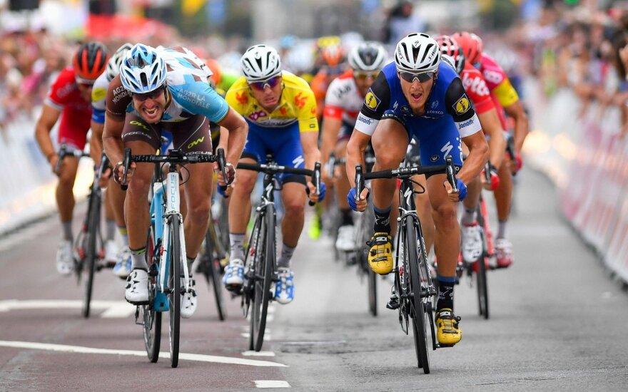 "Dviratininkas G. Bagdonas 16-ame ""Vuelta a Espana"" etape buvo 16-as"