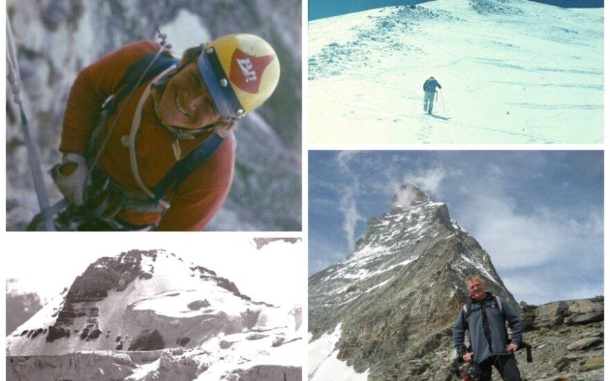 Teisėjas B. Varsackis – įsimylėjęs alpinistas: kita stotelė – Everestas