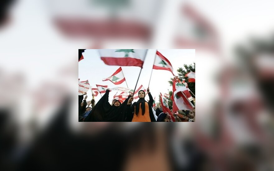 Libane tęsiasi protestai dėl didelių pragyvenimo išlaidų