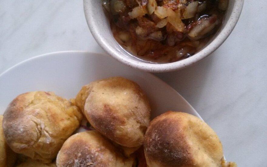 Bulvių kukuliai - šiuškės