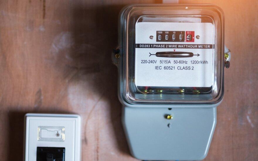 Praėjusią savaitę didmeninė elektros kaina augo visose Baltijos šalyse