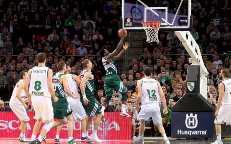 Žalgiris Kaunas celebrates its 100th victory in Euroleague