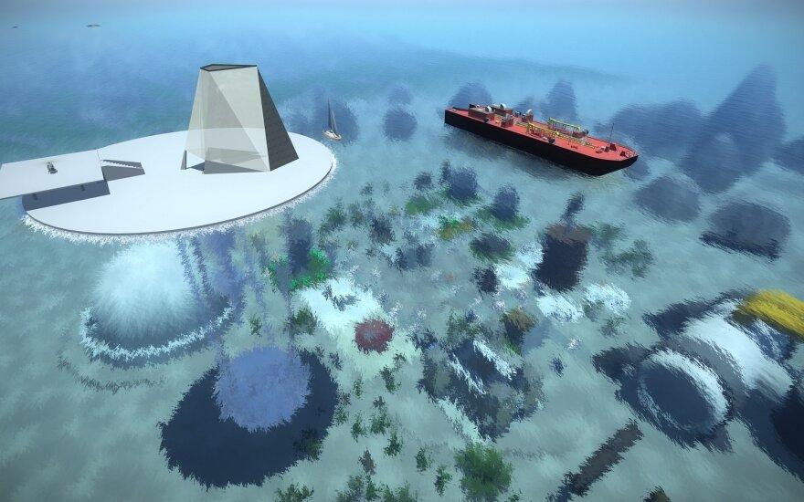 VGTU students create virtual underwater city