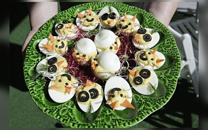Įdaryti Atvelykio kiaušiniai