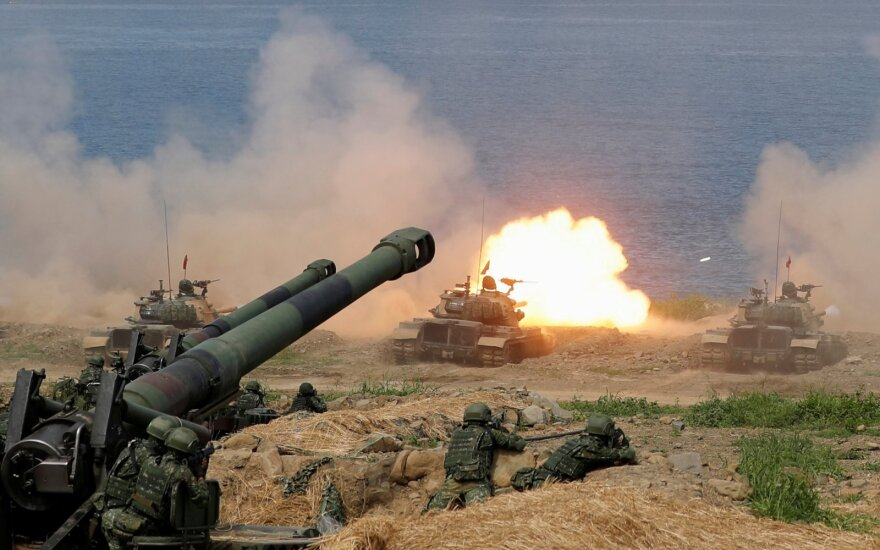 Karinės pratybos Taivane