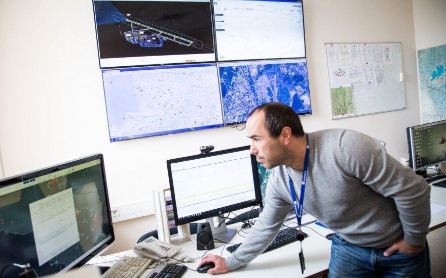 """""""Oro navigacija"""": per pirmąjį pusmetį - 11 proc. aptarnautų skrydžių augimas"""