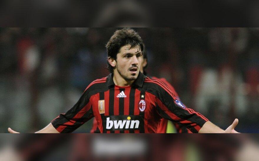 """Gennaro Gattuso (AC """"Milan"""")"""