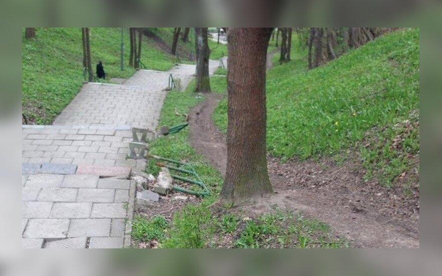 Kauniečiai pasibaisėjo vaizdeliu miesto centre