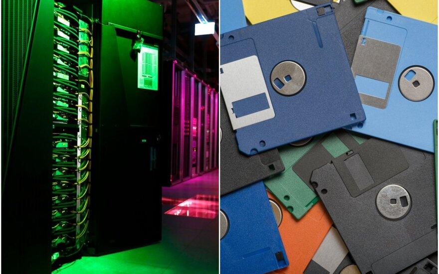 Superkompiuteris ir diskeliai