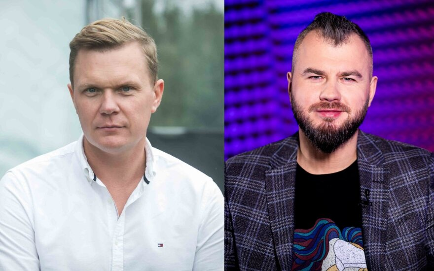 Mindaugas Stasiulis ir Gintas Vaičikauskas