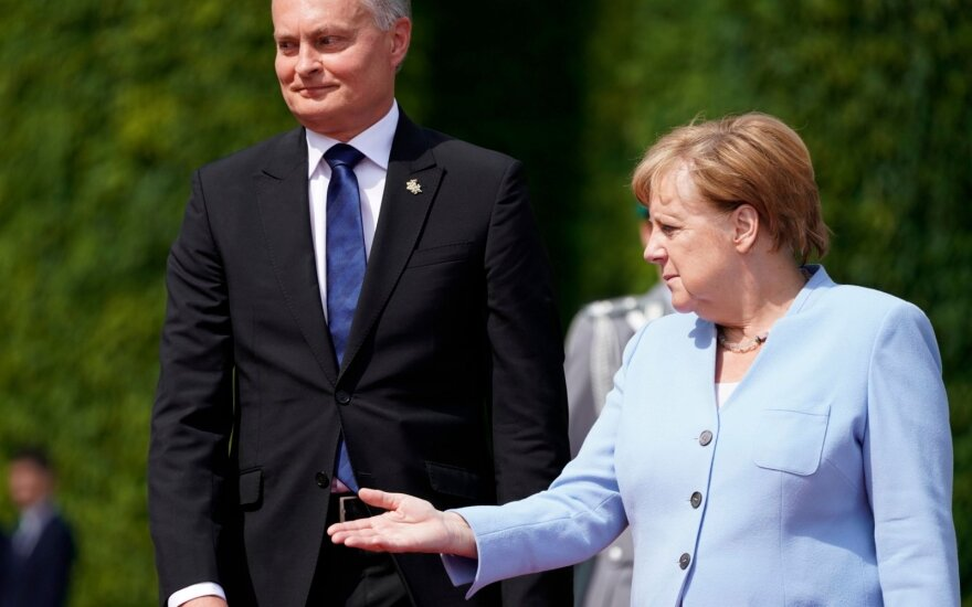 Merkel: German troops will stay in Lithuania