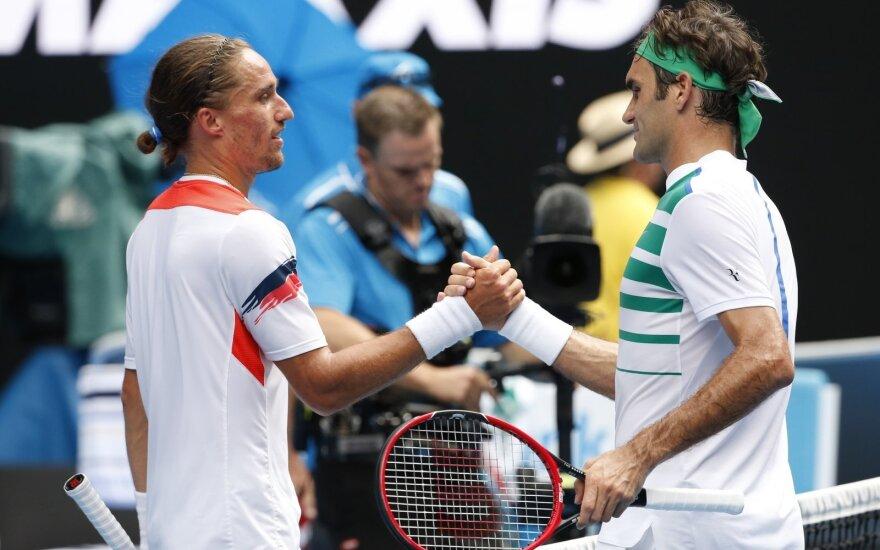 Roger Federeris ir Aleksandras Dolgopolovas