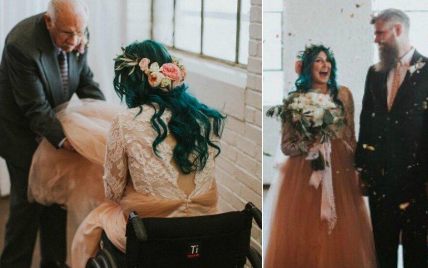 Jaquie Farmer vestuvių akimirka