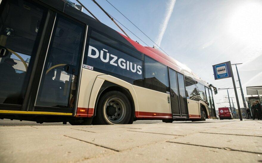 """Atsinaujinęs Vilniaus viešasis transportas // SĮ """"Susisiekimo paslaugos"""" nuotr."""
