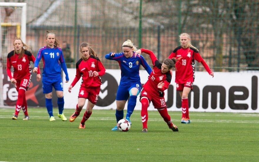 Moterų futbolas: Lietuva – Moldova