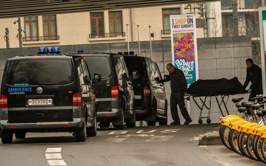 Su išpuoliais siejamas vyras Belgijoje apkaltintas vadovavimu teroristų grupuotei