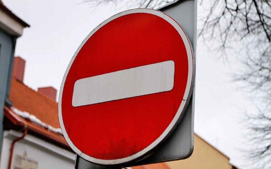 Įspėjo vilniečius – vakare bus uždaryta dalis miesto gatvių