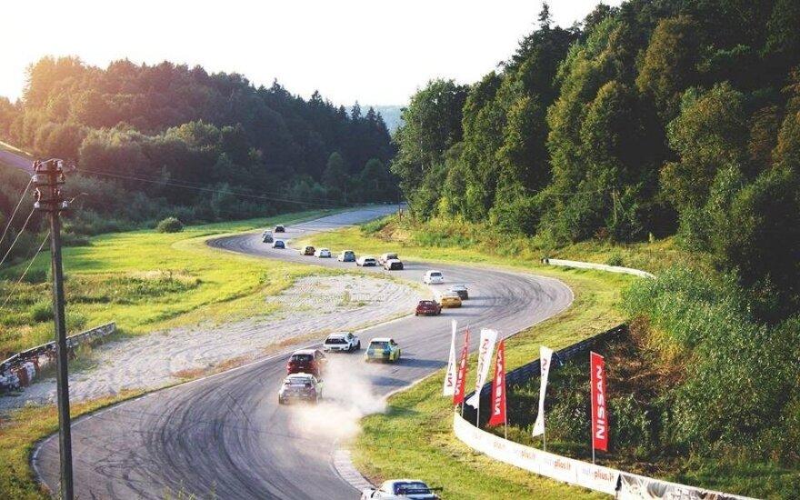 Automobilių sportas Kačerginės trasoje