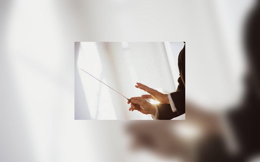 dirigentas, orkestras, muzika