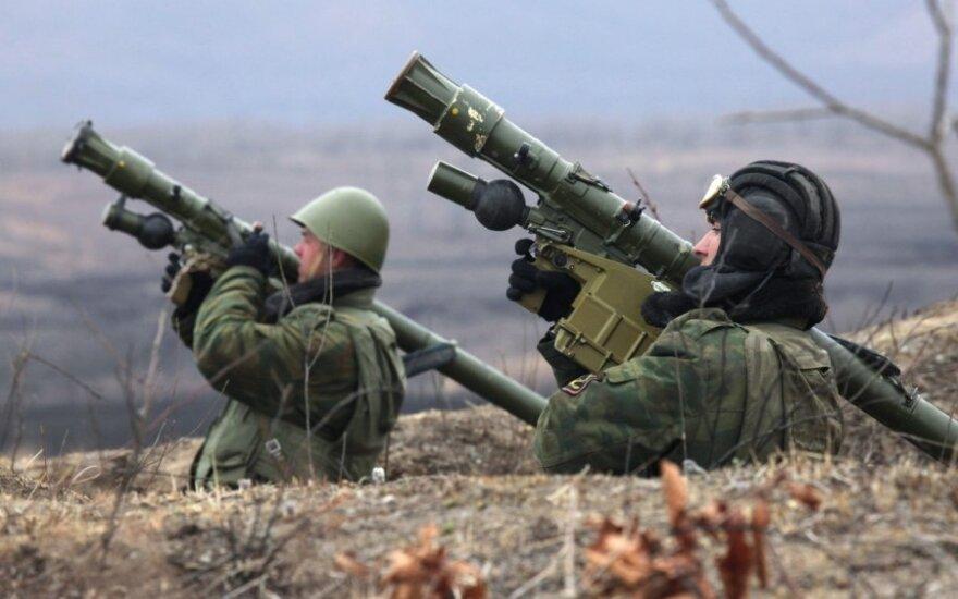Prie Latvijos ir Estijos sienų – 3 tūkst. Rusijos desantininkų