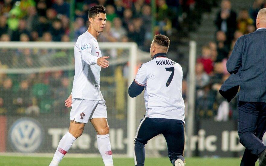 Cristiano Ronaldo, A Gadeikis