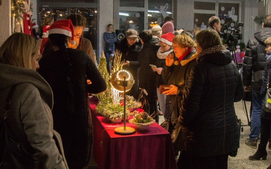 Dovana šiauliečiams – Kalėdinis Šimšės miestelis