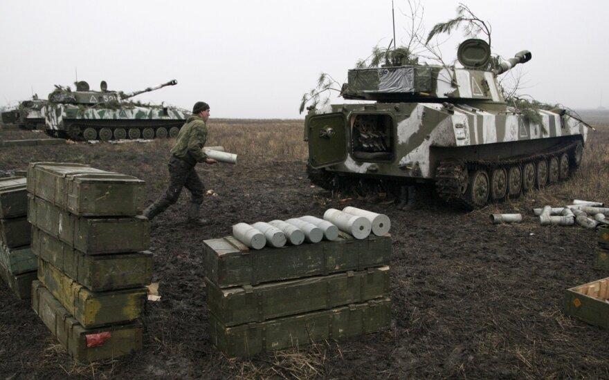 Luhansko separatistai perdavė Kijevui 42 nuteistuosius