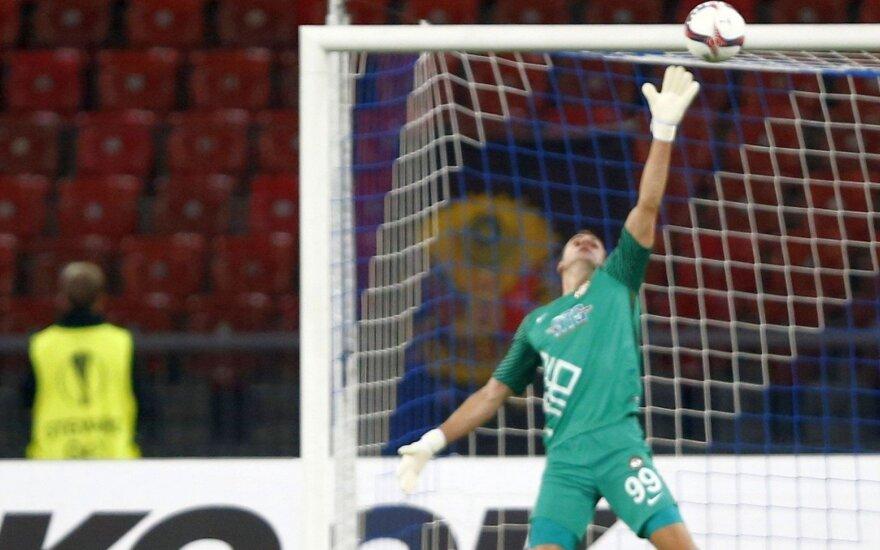 UEFA Europos lygos burtai Ankaros klubui su Ž. Karčemarsku lėmė graikišką iššūkį