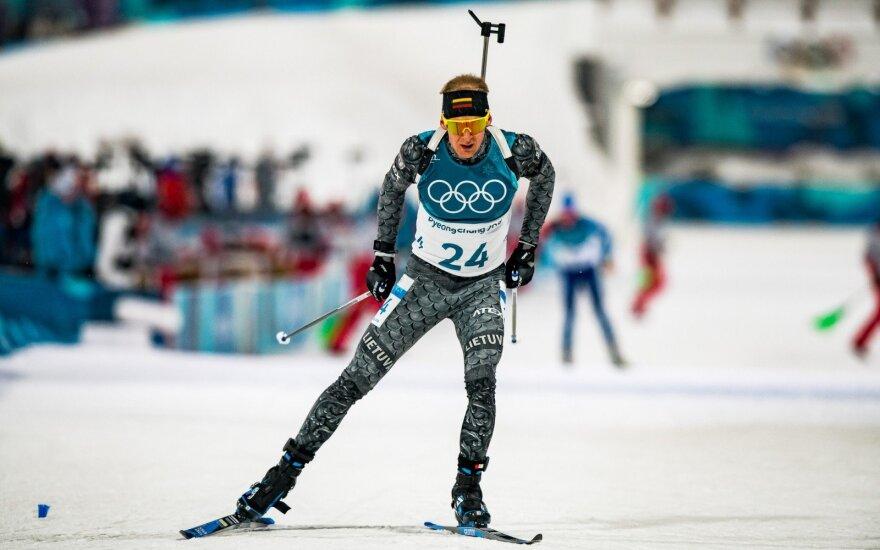 Lietuvos biatlonininkai pasaulio taurės varžybų starte buvo aplenkti ratu