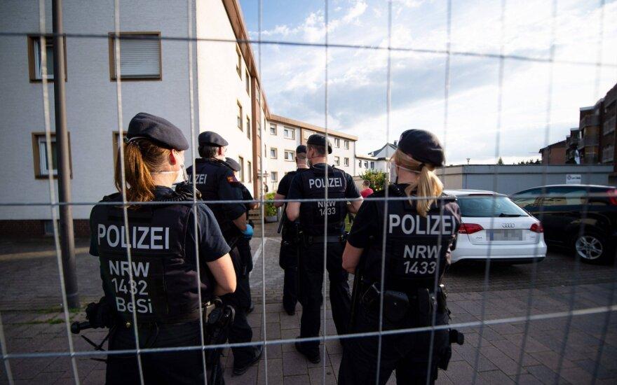Berlyne prasideda dviejų dienų protestai dėl koronaviruso suvaržymų
