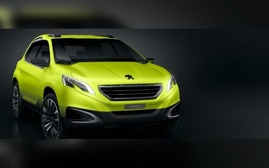 "Koncepcinis ""Peugeot 2008"""