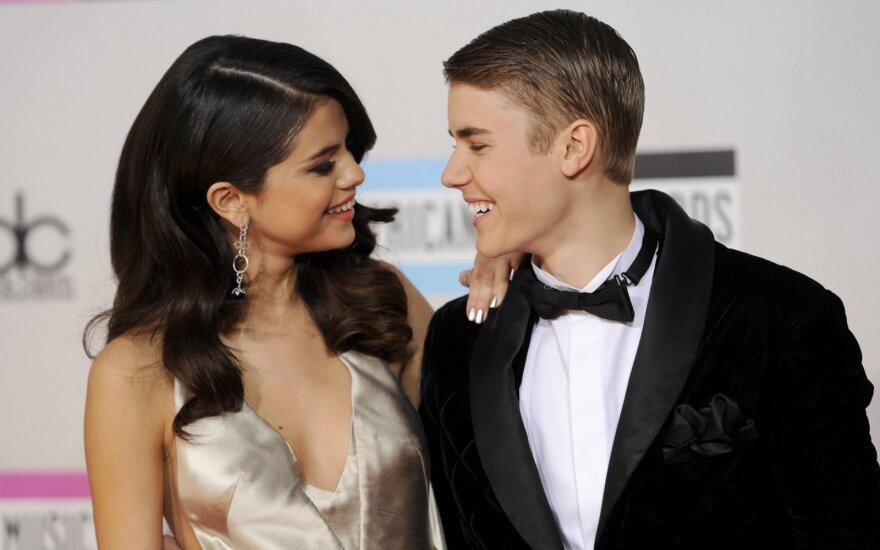 Selena Gomez ir Justin Bieber
