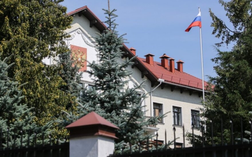 The Russian Embassy in Vilnius