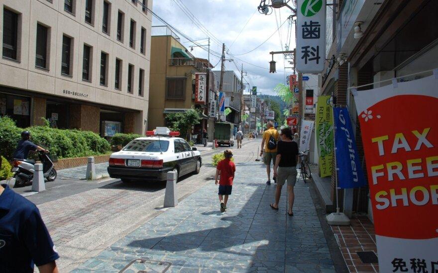 Japonijoje viešėjusį lietuvį nustebino vietinės policijos darbo ypatumai