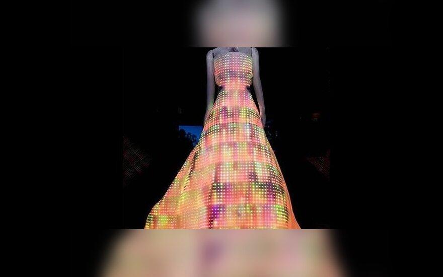 Sabin Seymour sukurta suknelė