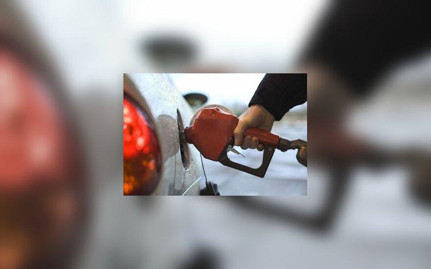 Praėjusią savaitę pigo benzinas ir dyzelinas, brango dujos