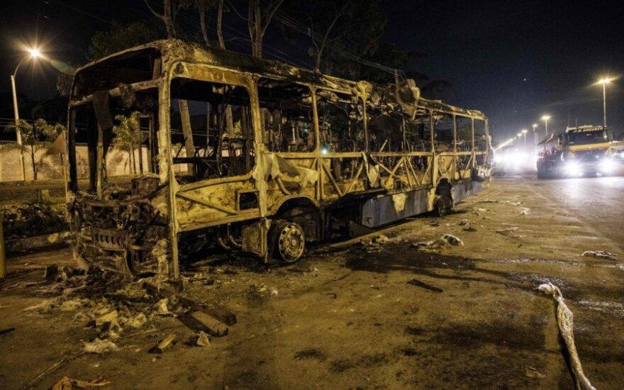 Protestas Brazilijoje baigėsi smurto proveržiu