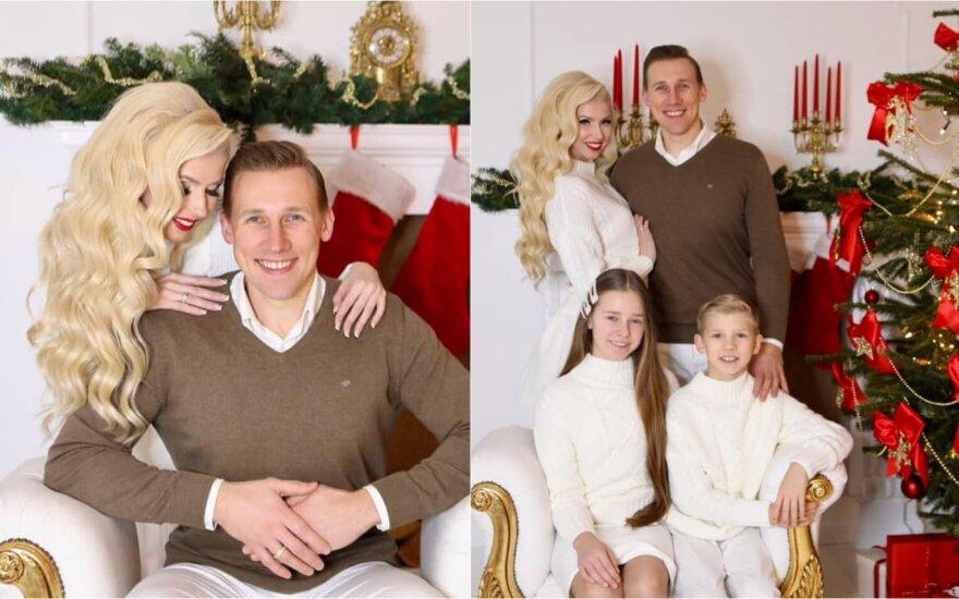 Šventinė I. ir A. Stumbrų šeimos fotosesija
