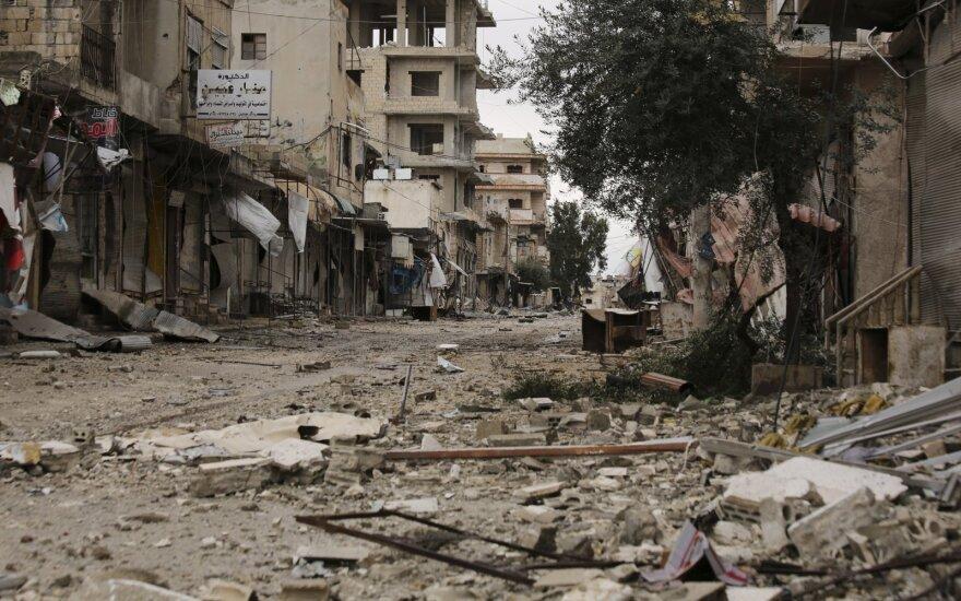 Sirijos numuštas dar vienas režimo sraigtasparnis