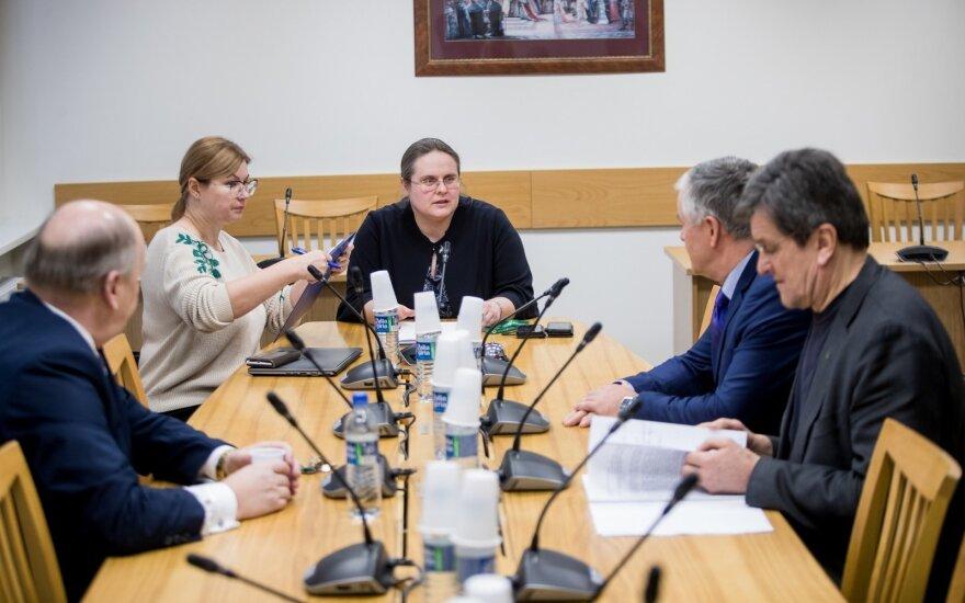 Austėja Landsbergienė su Širinskienės komisija nebendrauja, į kitą posėdį kvies Landsbergį