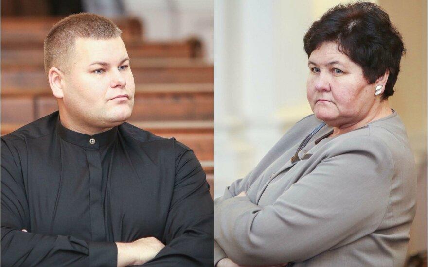 Edvinas Kazlauskis ir Virginija Kazlauskienė