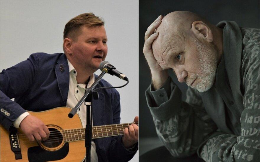 Vladas Bagdonas ir Giedrius Arbačiauskas