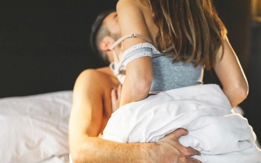 Sunku patirti orgazmą? Pabandykite atsipalaiduoti