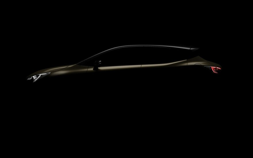 "Naujoji ""Toyota Auris"""