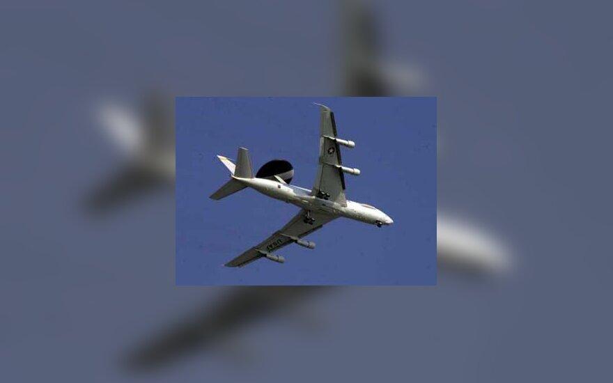 U.S. Air Force AWACS plane