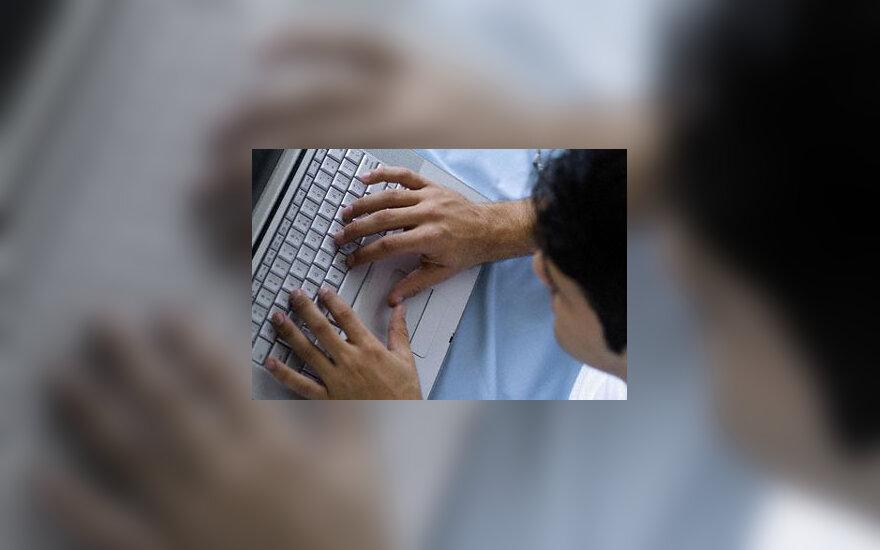 Paauglys, kompiuteris